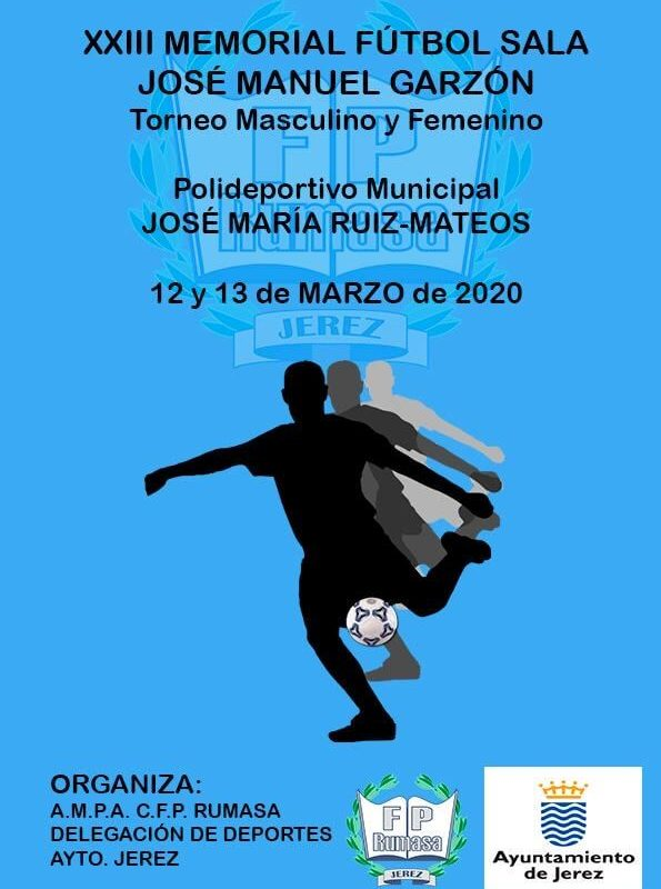 Portada Campeonato Futbol Sala CFP Rumasa