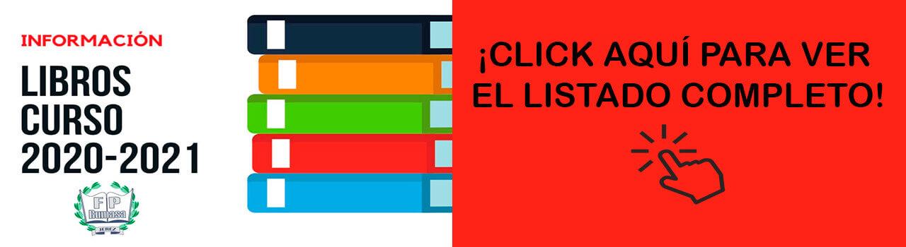 Slider Libros Curso 2020-2021
